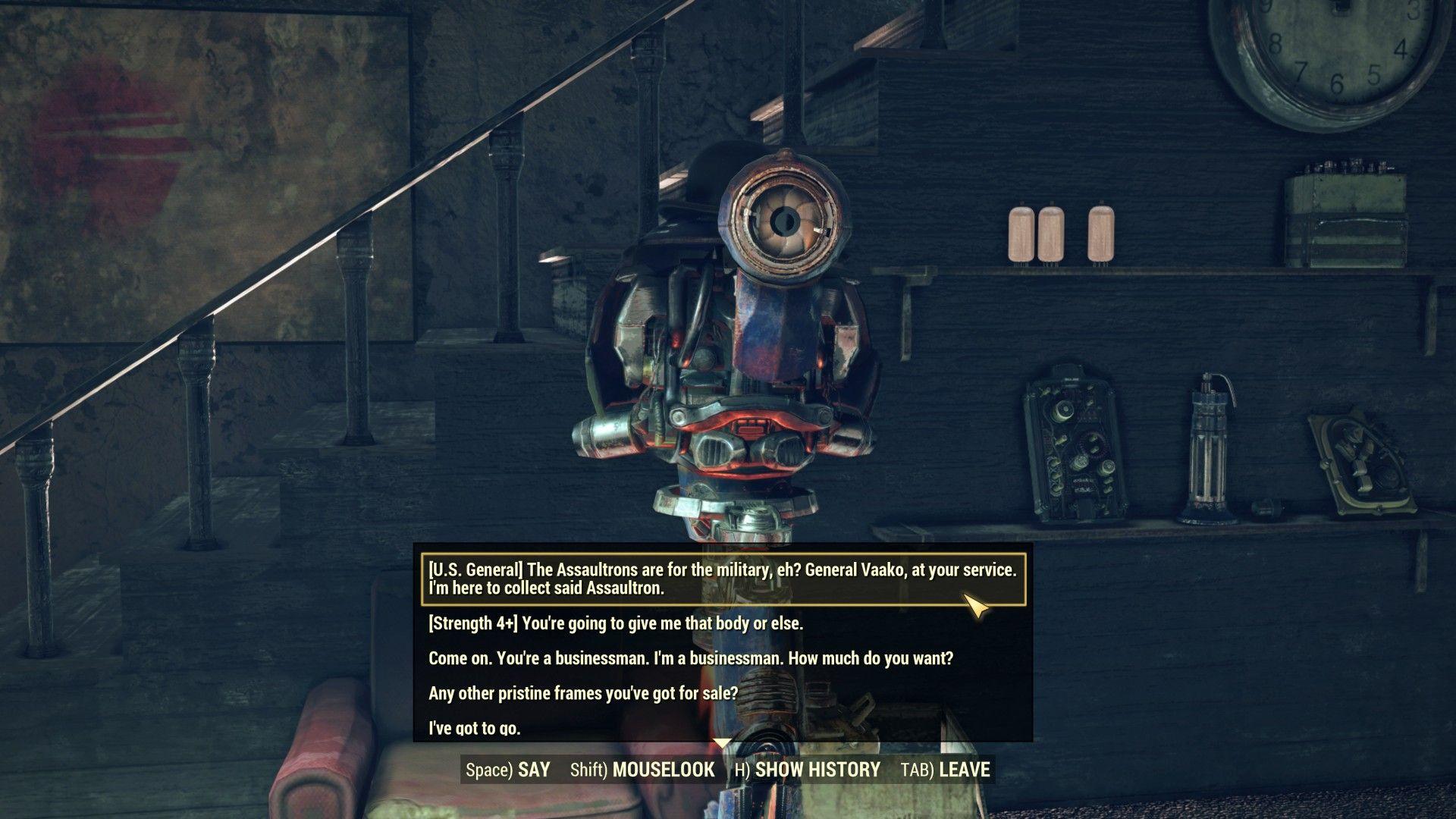 Fallout 76: как выполнить квест Сила в цифрах