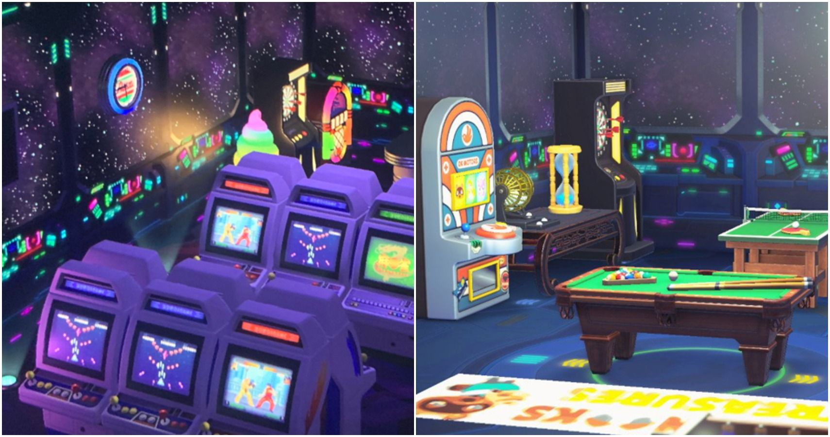 Animal Crossing 10 Amazing Arcade Rooms Thegamer