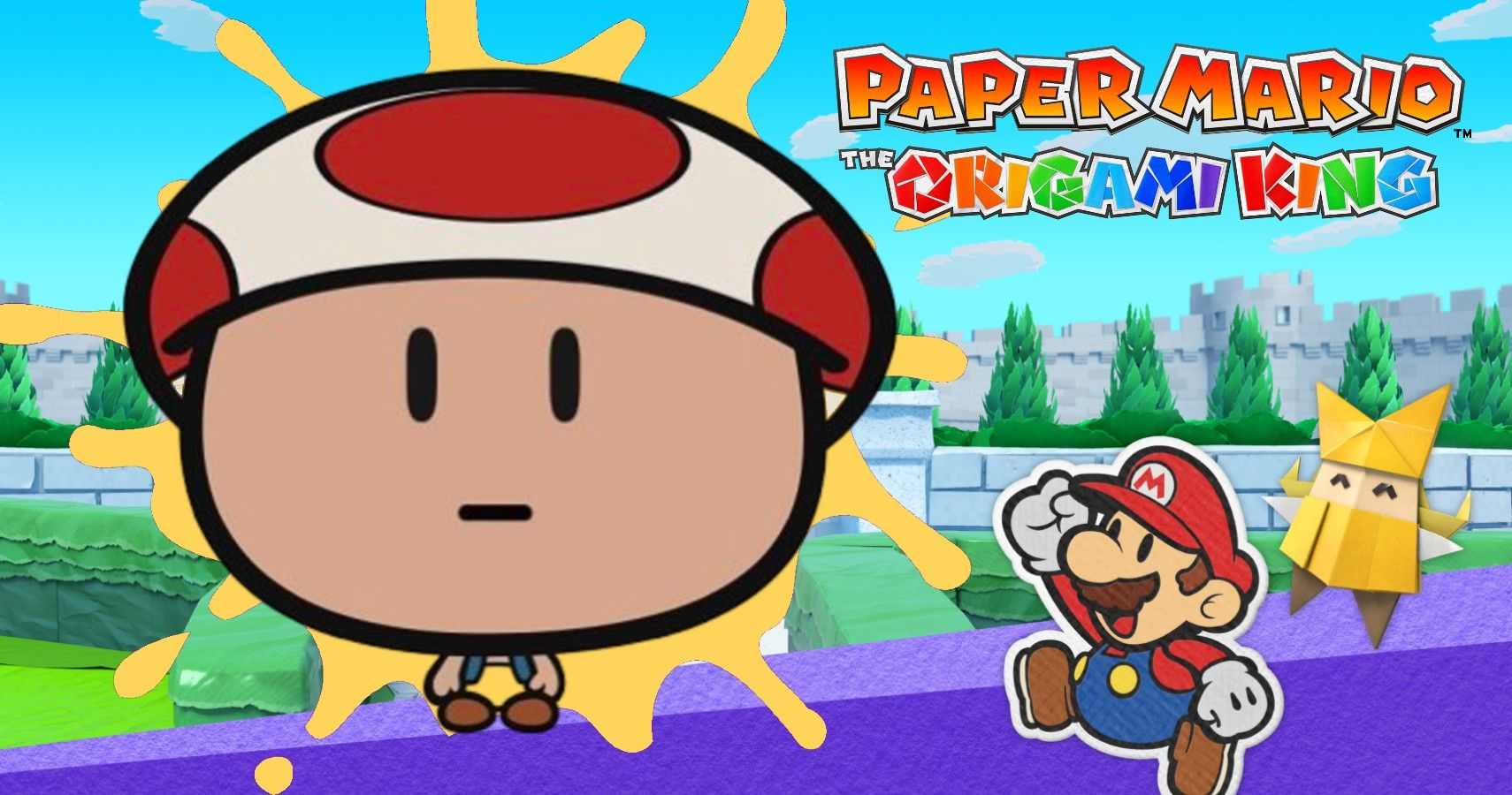 Gaming Detail There S A Unique Toad Sprite Hidden In Paper Mario