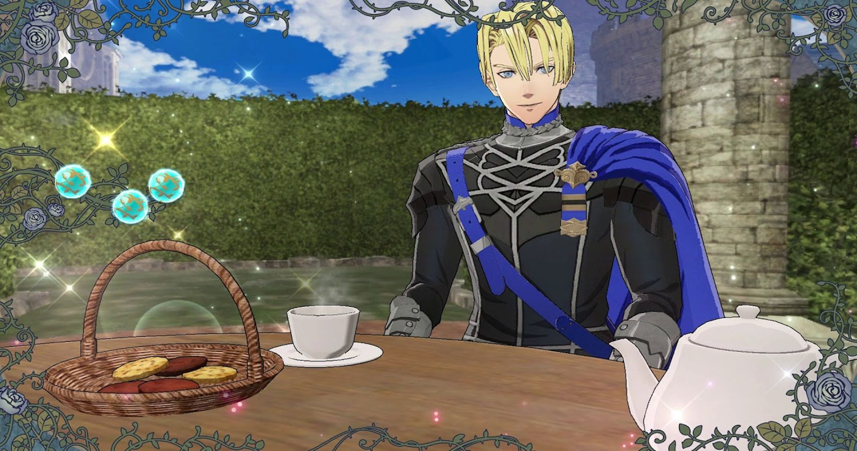 Fire Emblem Three Houses A Guide To Dimitri S Tea Parties