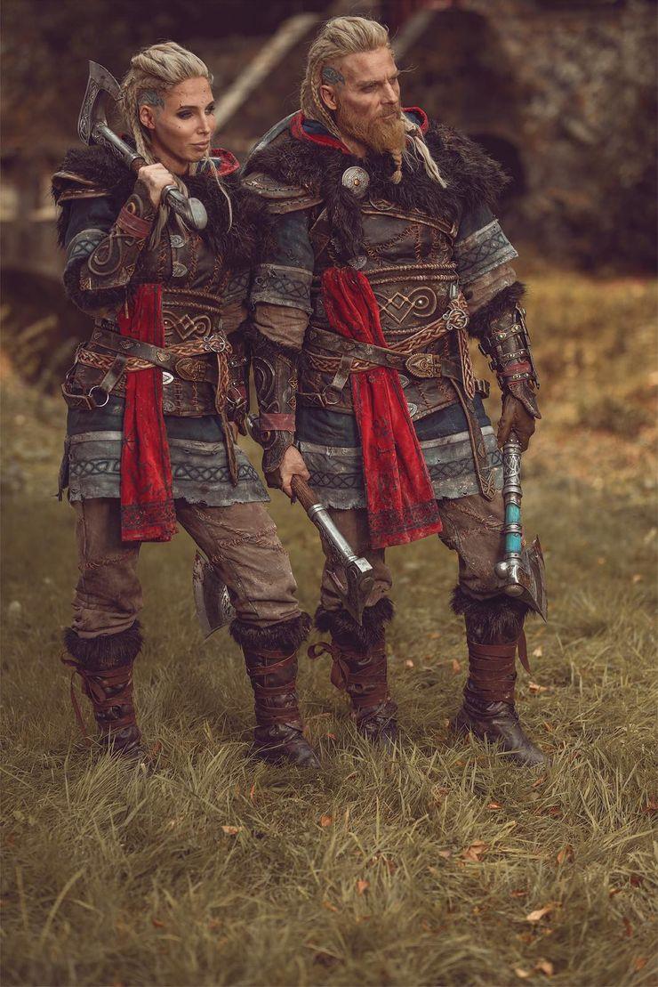 Stuntman Reveals Stunning Cosplay Of Eivor From Assassin S Creed Valhalla