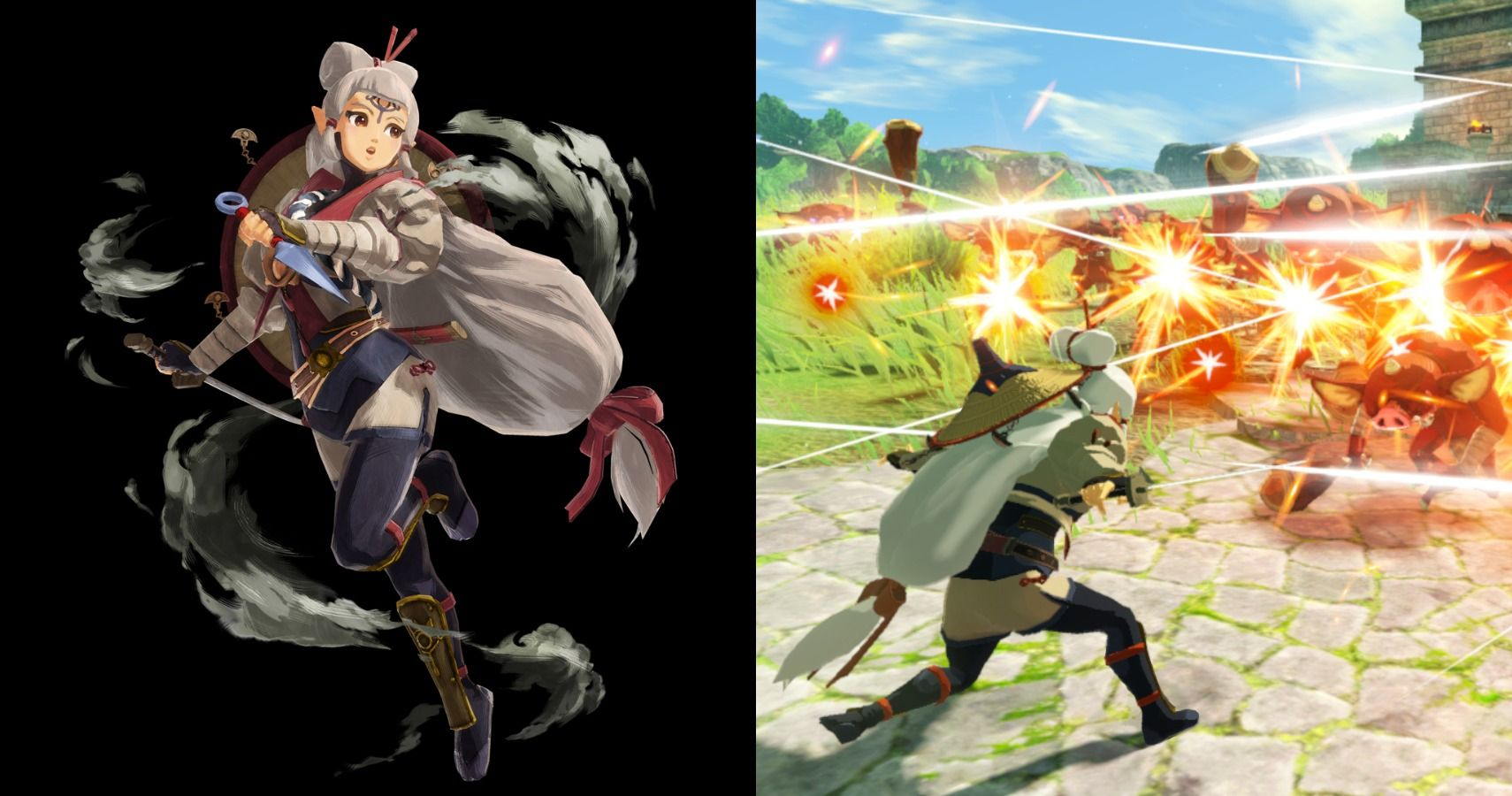 Hyrule Warriors Age Of Calamity Announces Playable Young Impa