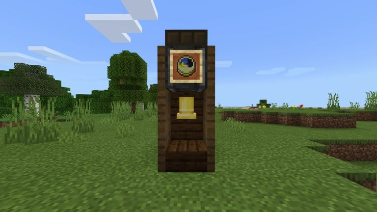 Minecraft How To Build A Functioning Grandfather Clock For Your Home