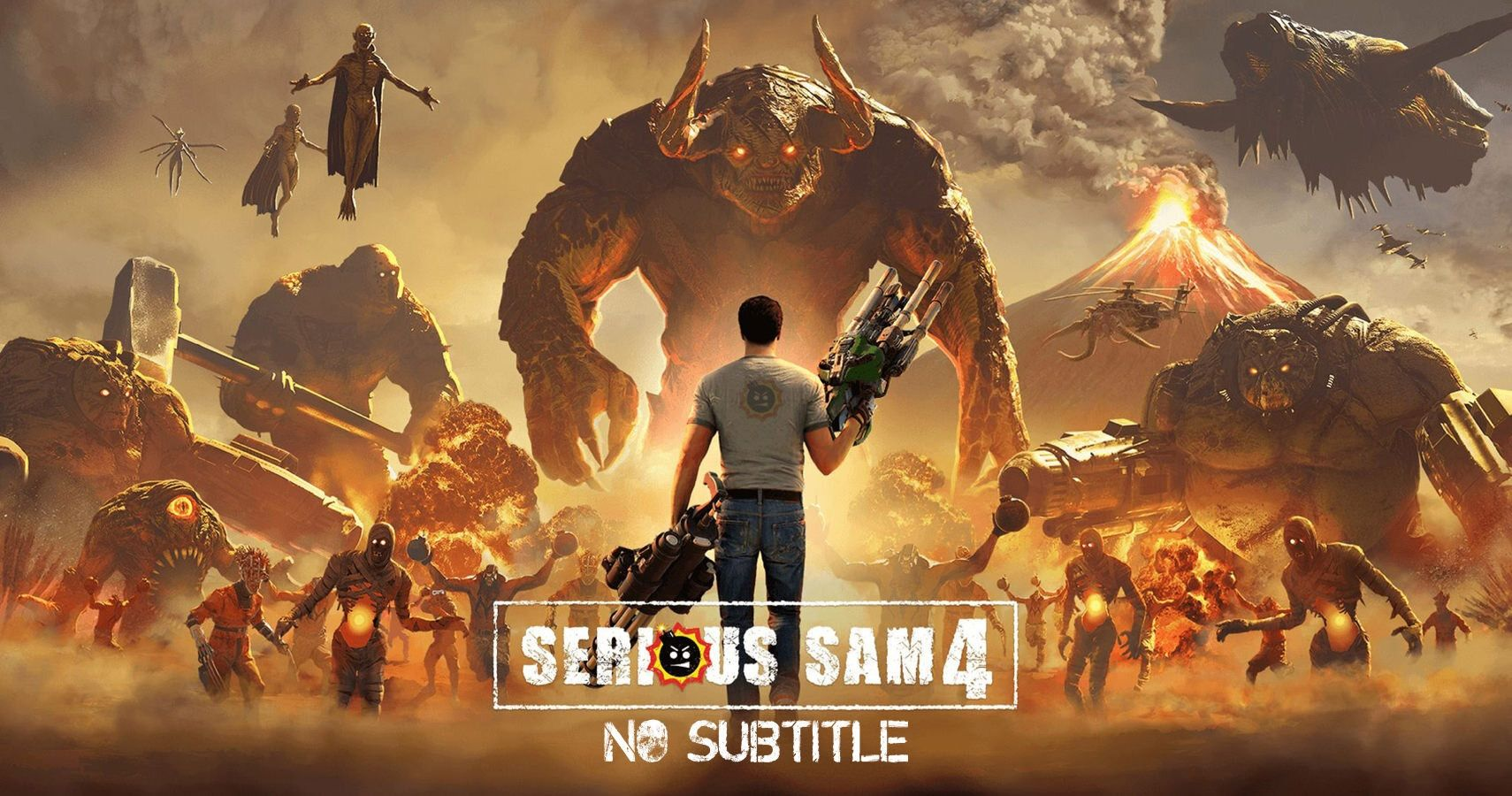 SS4 badass - Croteam Explains Why Serious Sam 4 Dropped The Planet Badass Subtitle