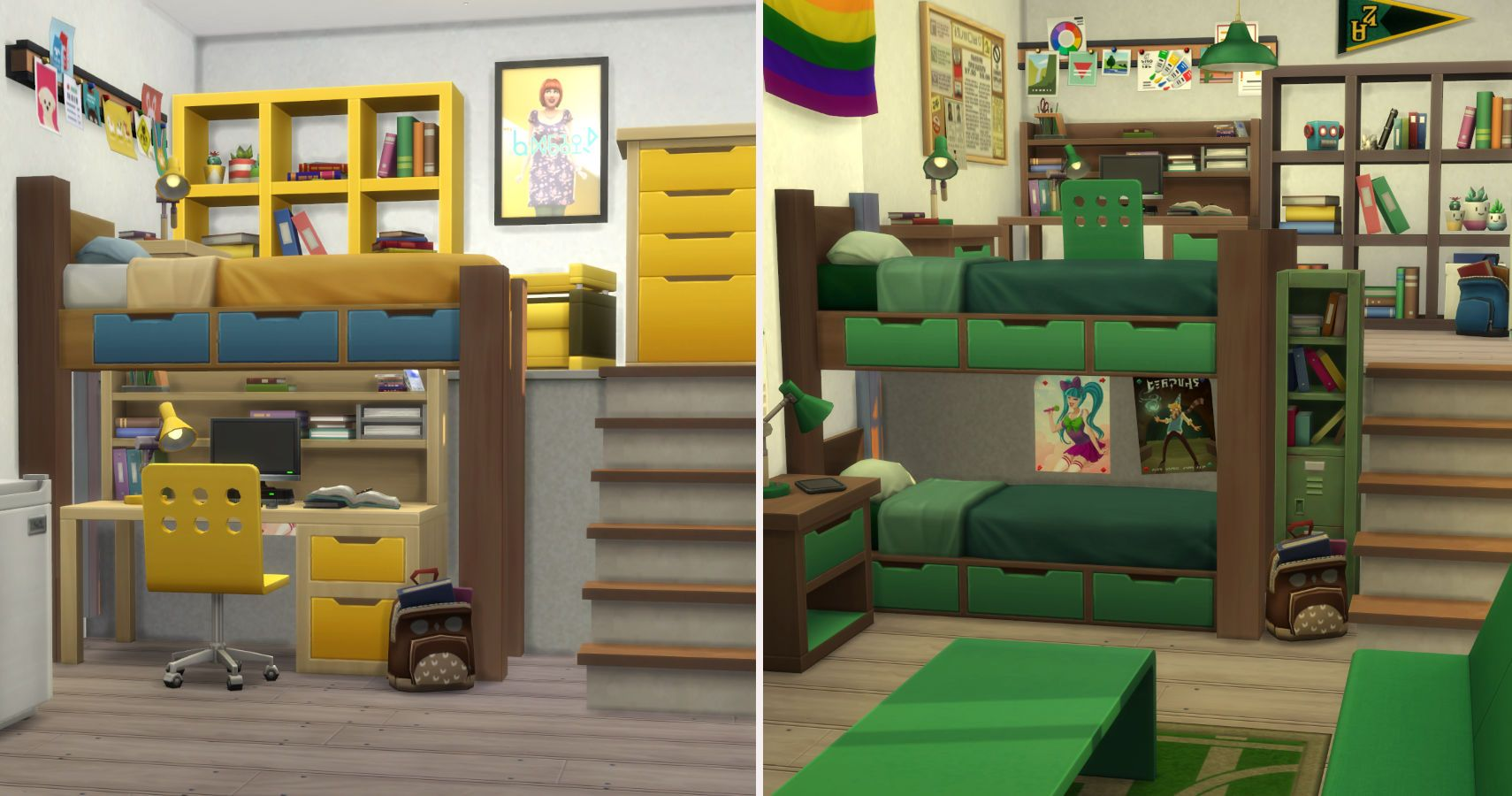 The Sims 4 A Step By Step Guide To Creating Cc Free Bunk Beds