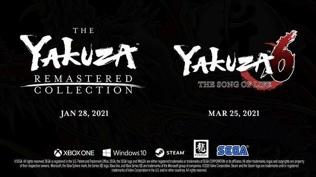 مجموعه بازی Yakuza Remastered برای Xbox و PC در دسترس خواهد بود تاریخ انتشار