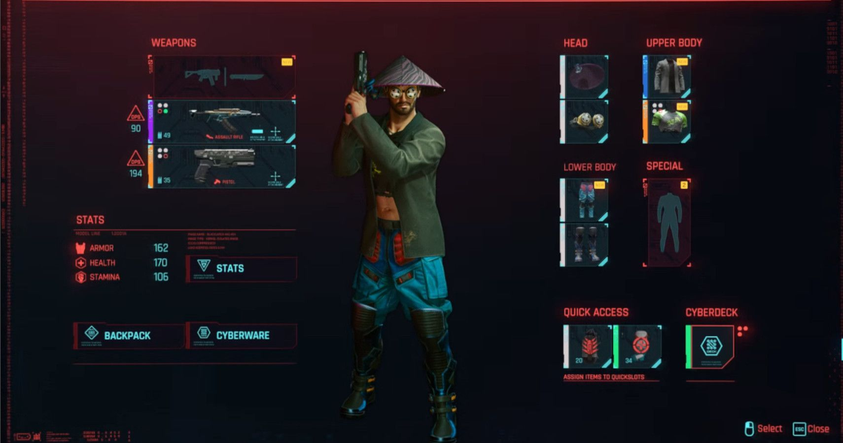 I'm Sick Of Dressing Like An Idiot Just To Max My Stats In Cyberpunk