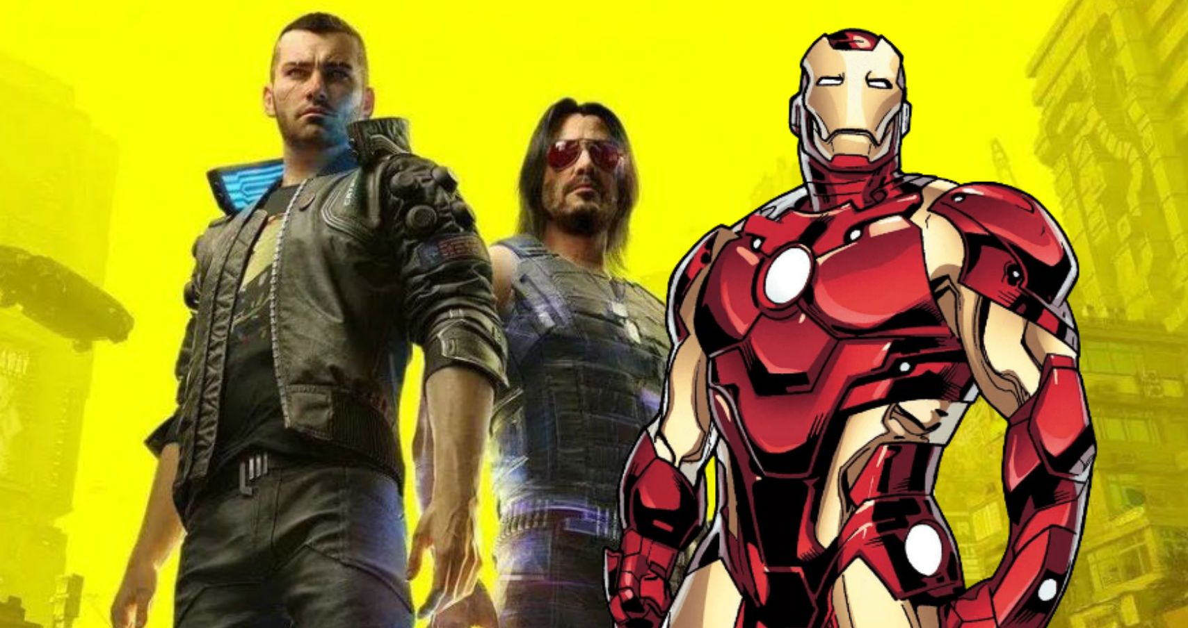 Cyberpunk 2077 Has A Massive Iron Man Easter Egg | TheGamer