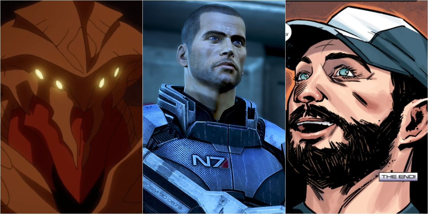 Every Mass Effect Video Game, Comic, And Side Story In Chronological Order