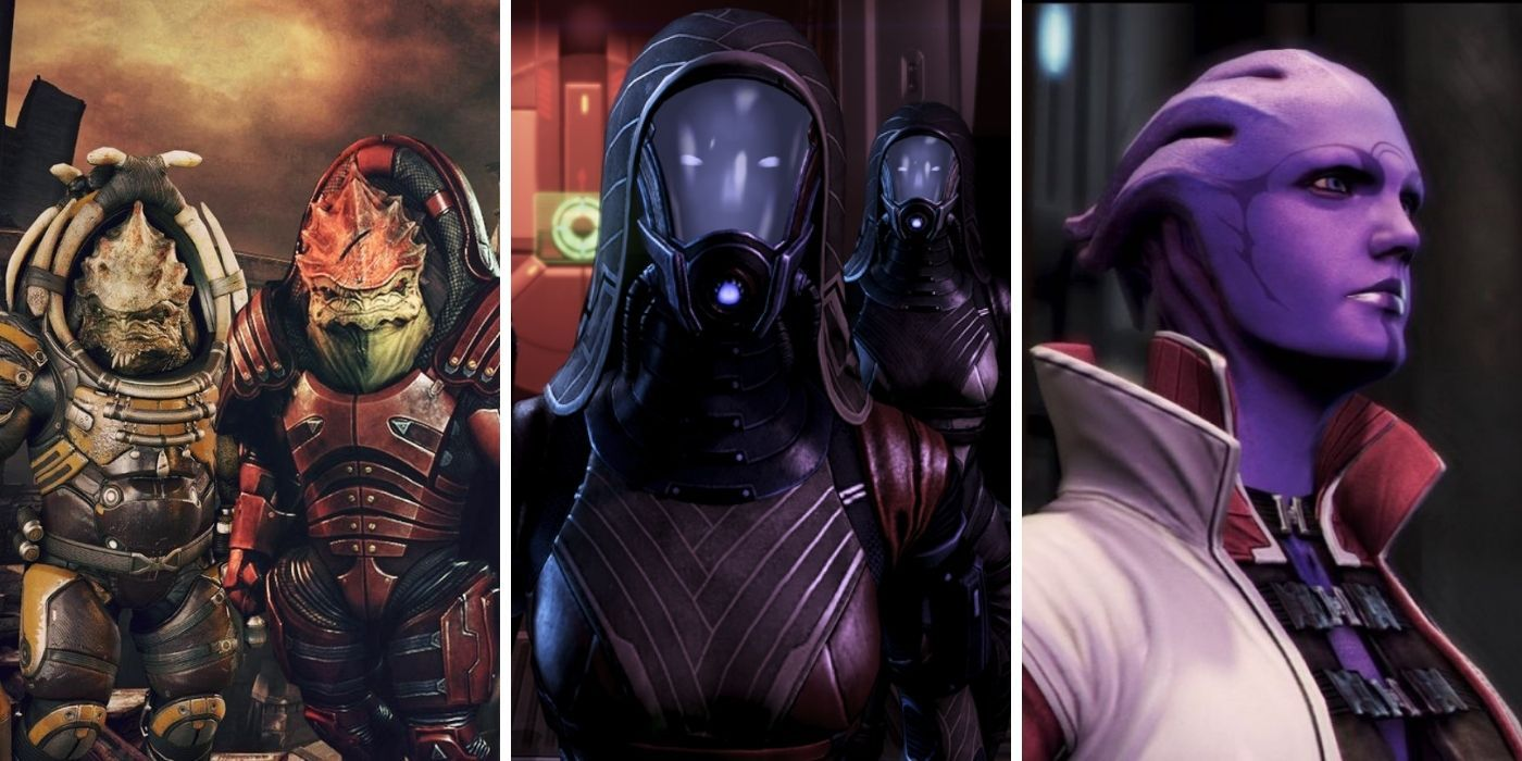 Mass Effect: Every Race In The Galaxy And The Size Of Their Population